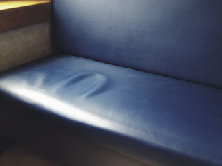 Impression on seat cushion
