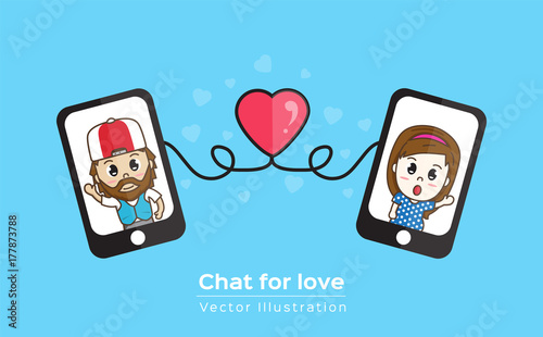 Mobile love chat