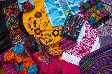 Mayan mexican handcrafts souvenirs mix