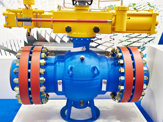 Ball valve for oil and gas industry