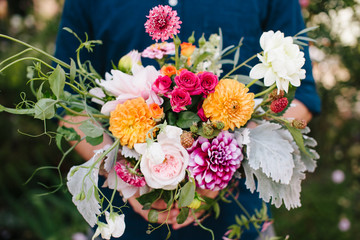 Bouquet of Bright Flowers