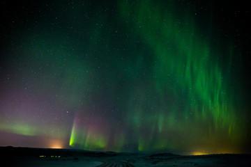 Polarlicht - Aurora borealis - Island
