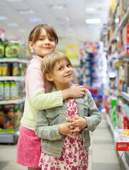 children in   toy store