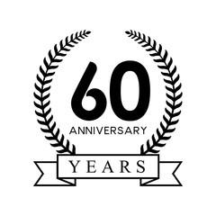 60th anniversary years