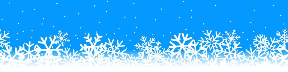 Bannière neige