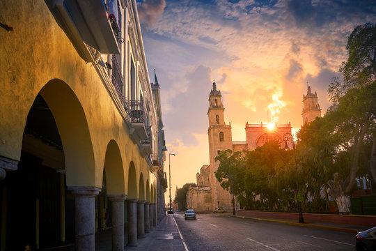 Merida San Idefonso cathedral Yucatan