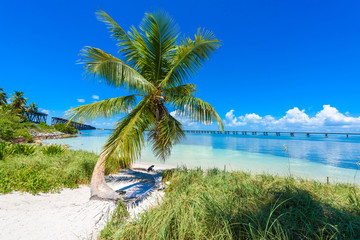 Bahia Honda State Park - Calusa Beach, Florida Keys - tropical coast with paradise beaches - USA