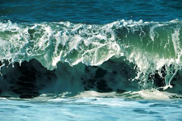 splash of a sea wave