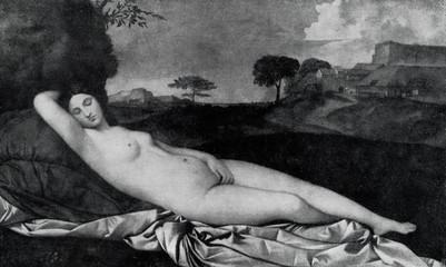 Sleeping Venus (Giorgione, ca. 1510)