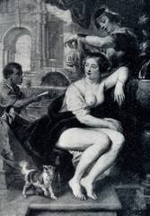 Bathsheba at the Fountain (circa 1635) by Peter Paul Rubens