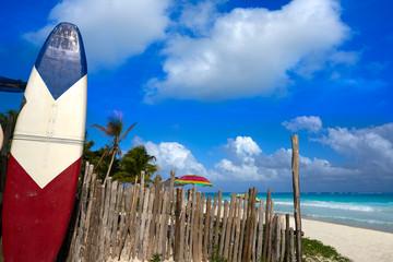 Wall Mural - Tulum Caribbean beach in Riviera Maya