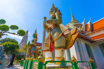 Wat Arun the Temple of Dawn in Bangkok, Thailand