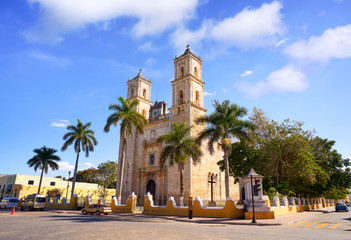 Valladolid San Gervasio church of Yucatan