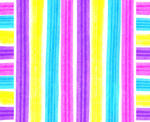 Abstract bright strips and squares background