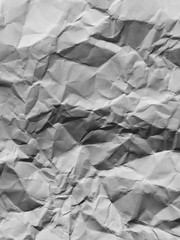 Close up of crumpled piece of construction paper