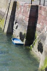 At Dunbar Harbour Scotland