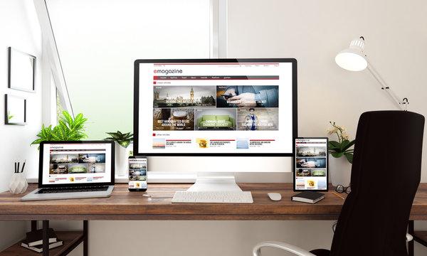 window office desktop devices e-magazine
