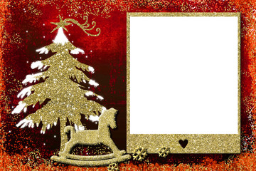 Photo frame Christmas cards