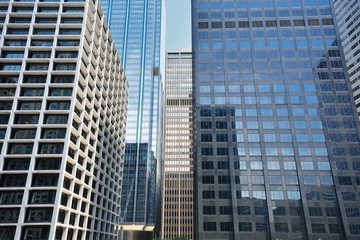 Skyscrapers in Chicago, Illinois, USA.