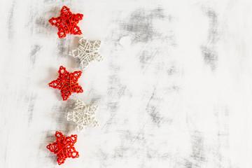 Christmas handmade background.