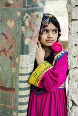 Shy Girl Child