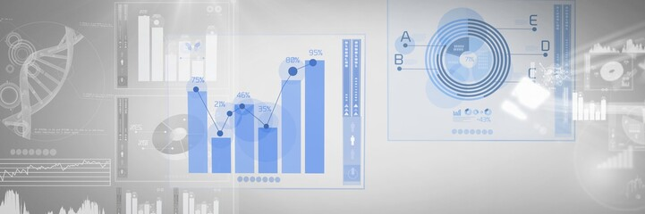 Technology interface diagrams and charts