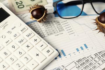 Annual Closing Calculator Glasses