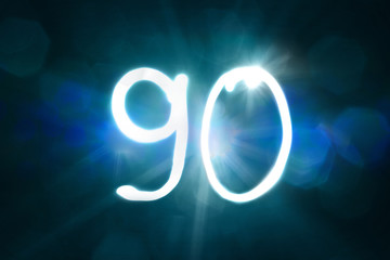 90 Lichtmalerei