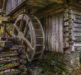 Historical water mill in bavaria.