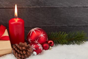 Grußkarte zu Weihnachten oder Advent