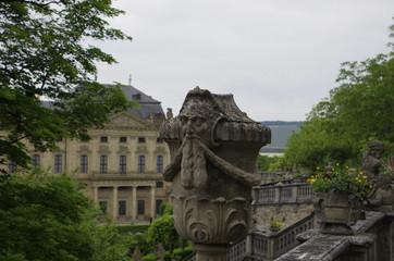 ビュルツブルクの街並み