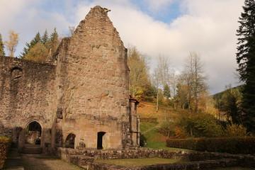 """Reste der Klosterruine """"Allerheiligen"""" im Schwarzwald"""