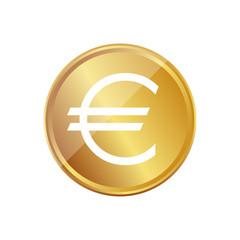 Gold Münze - Euro - Währung