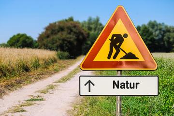 Schild 255 - Natur