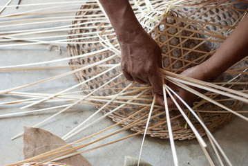 Weaving Bamboo Hat