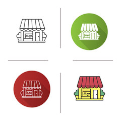 Small shop icon