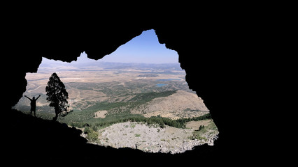 huge caves and unusual venues