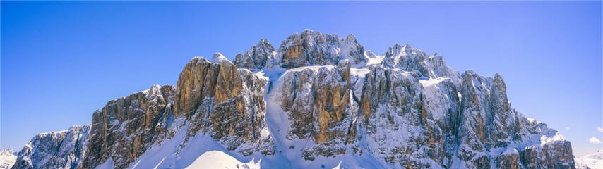 Winter Dolomites panorama
