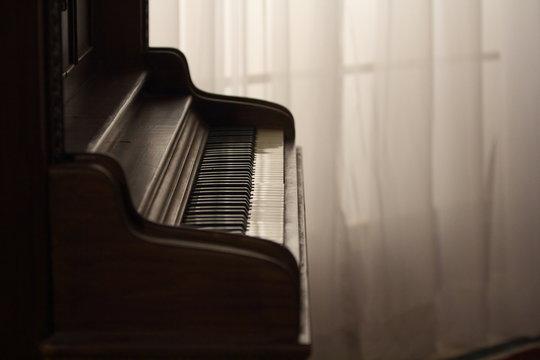 Old Retro Grand Piano