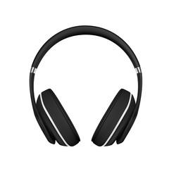 headphones in vector on white background