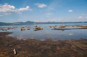 Siccità lago di Bracciano