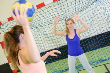 a game of handball