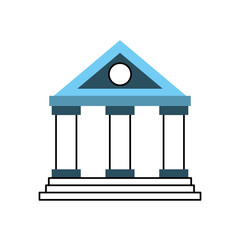 building bank financial money saving symbol
