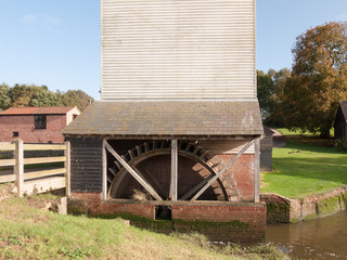 old mill turning well not moving lake water power generation farm