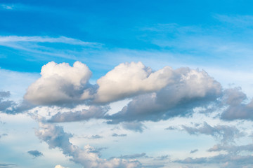 Cloudy and blue sky, Abstract background, Natural background