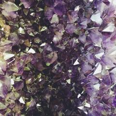 Close Up of Amethyst Crystal