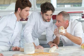 pastry chefs in training Fototapete