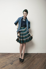 Fashion Photo of Young Woman Fashionista