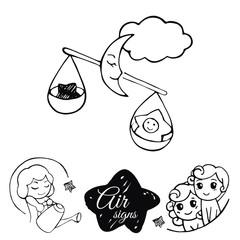Air signs of the zodiac