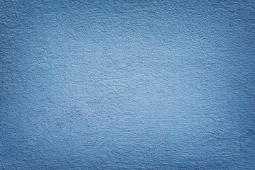 Mortar Wall Painted Blue Color.